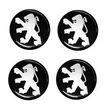 Emblemas Peugeot 48mm P/ Calotas E Rodas Automotivas