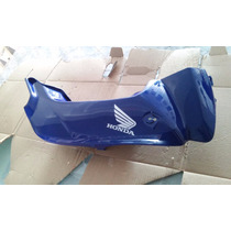 Carenagem Frontal Direita Pop 100 Azul 08/09 Original Honda