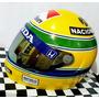 Capacete Ayrton Senna + Brindes