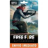 Garena Free Fire 100 Diamantes - Recarga Para Conta No Jogo