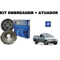 Kit Embreagem + Atuador Original Gm Montana 1.8 8v