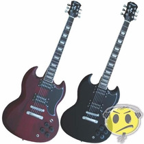 Guitarra Benson Sg Corpo Maciço Top Loja Kadu Som