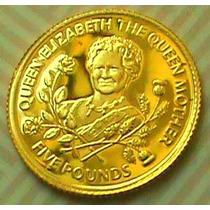 Moeda De Ouro Puro 999.9 Inglaterra - Com Certificado