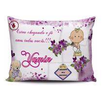 76ca382d6f211a 20 Almofadas Personalizadas Para Maternidade Chá Bebe à venda ...