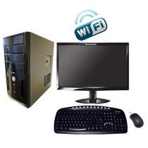 Computador Intel 8gb Hd 500gb Monitor Lcd 19