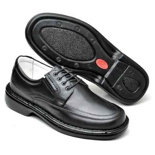 Sapato Social Formatura Antistress Amarrar Couro 1504 336b4bccbe60c