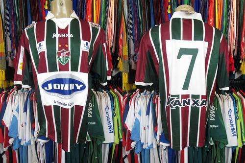 Brechó do Futebol - Fluminense De Feira 2013 Camisa Titular Tamanho ... 2611cf7d567df