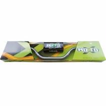 Guidão Fat Bar Alto Moto X Grafite + Adaptador - Cros/trilha