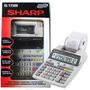 Calculadora Sharp Mesa El-1750v Com Impressão Bobina 110v