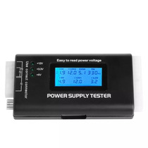 Power Supply Tester Testador Digital Fonte Pc Lcd Atx Btx