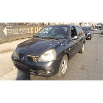 Renault Clio Sedan 1.6 16v Flex 2006/2006 - Sucata Peças