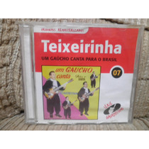 Cd Teixeirinha Um Gaúcho Canta Para O Brasil 07