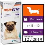 Antipulgas E Carrapatos Bravecto Caes De 4,5 A 10kg V. 12/19