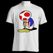 Camiseta High Toad Super Mario Imp Digital Frete Grátis J123