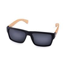 Óculos De Sol C Haste De Bambu E Proteção Uv 400