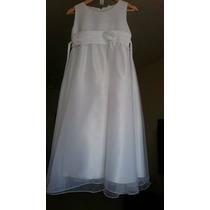 Vestido Longo De Dama De Honra Infantil - Envio Imediato