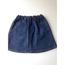 Saia Jeans Infantil Da Chicco Para 5 Anos Nova Com Etiqueta
