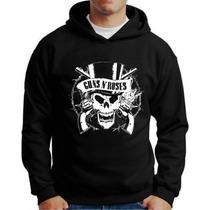 Blusa Moleton Guns N Roses Banda