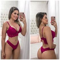 Busca conjunto langerie com os melhores preços do Brasil ... 3f710f300db