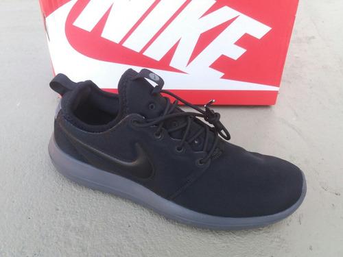48d9d4a625 Tênis Nike Roshe Two Sneaker Preto Original - R  309 en Melinterest