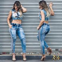 Calça Rhero Jeans Estilo Pit Bull Modela Bumbum !!!