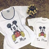 519cdbbbc99bdc Busca Kit camisetas Mickey com os melhores preços do Brasil ...