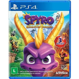 Jogo Spyro Reignited Trilogy Playstation 4 Ps4 Mídia Física