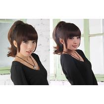 Franja Hair Fibra Japonesa De Aplique Tic Tac Pronta Entrega