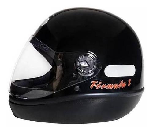 Capacete Para Moto Integral San Marino Classic Preto Tamanho 56
