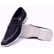 Sapato Social Masculino Couro Legitimo Esporte Fino
