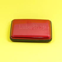 Porta Cartões De Crédito Vermelho