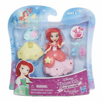 Boneca Princesas Disney - Little Kingdom Ariel + Vestido