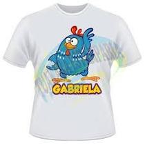 Camiseta Pronta Entrega Galinha Pintadinha