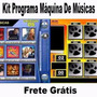 Kit Programa Máquina De Músic Jukebox Musicbox 12 E 9 Capas