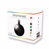 Novo Google Cromecast 3 Hdmi 1080p Chromecast 3 Original