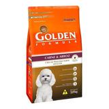 Ração Golden Formula Premium Especial Cachorro Adulto Raça Pequena Carne/arroz 3kg