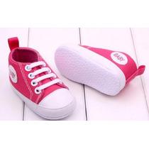 Sapatinho Baby Tipo All Star Tenis Bebê Maternidade Sapato