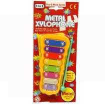 Criança Toy Musical - Mini Metal Xilofone Childrens