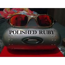 Óculos Oakley Juliet Cromado Polarized Numerado 2 Lentes