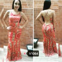 Vestido Longo Cruzado !!! Lindo E Fashion !!