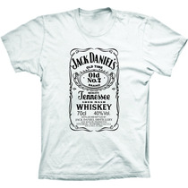 Camiseta Jack Daniels, Johnnie Walker