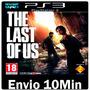 The Last Of Us Ps3 Dublado Português Digital Cod Psn
