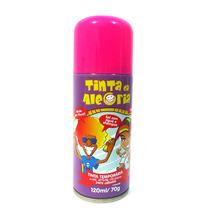 Kit C/ 2 Spray Cabelos Tinta Da Alegria Carnaval Rosa E Azul