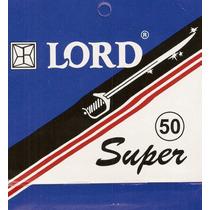 Lord Super ( 100 Caixinhas - 5 Laminas Cada ) 500 Laminas