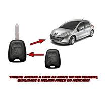 Capa Chave Telecomando Peugeot 206- 207-sw/hoggar/307-5i