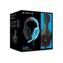 Headset Gamer G230 Stereo P2 Logitech