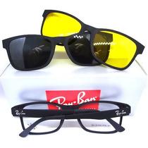 940afd7f653c7 Oculos Armação Grau Sol Clip On Masculino Feminino Cod.20 75 à venda ...