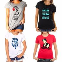 Camiseta Doctor Who Feminina Varios Modelos