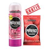 Gel Lubrificante Prudence Sabores E Aromas 100gr + Brinde