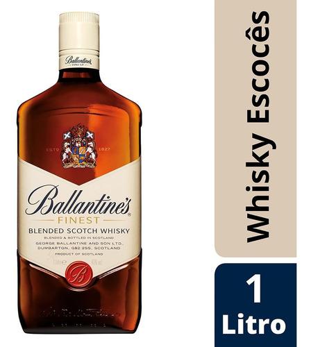 Whisky Escocês Ballantine's Finest  - 1l